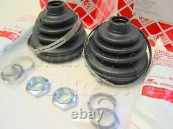 2 Febi Outer CV Gaiter Boot Kits VW Mk1 Golf GTI Mk2 Mk3 1600 191498203C