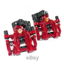 2x Bremssattel hinten rot 310mm Bremse VW Golf 7 GTI R Audi A3 8V S3 RS3 TTS (B)