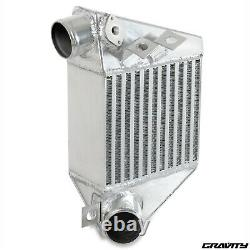 ALUMINIUM 13mm SIDE MOUNT INTERCOOLER KIT SMIC FOR VW GOLF MK4 1.8T GTI 99-04
