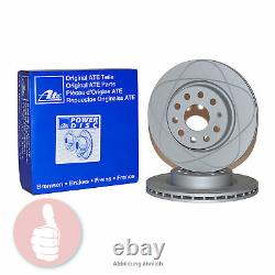 ATE Power Disc Bremsscheiben 310mm belüftet Vorderachse für Audi