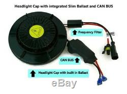 All In One Bolt On Integrated HID Xenon Conversion Kit Volkswagen Jetta Golf MK5