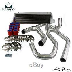 Aluminum Front Mount Intercooler FMIC Kit Fits 98-05 VW JETTA Golf GTI 1.8T