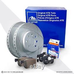 Ate Bremsen Set 2 Bremsscheiben Power Disc 4 Bremsbeläge Vorne Audi A3 8p1