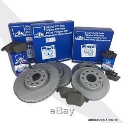 Ate Power Disc Bremsscheiben Bremsen Beläge Vorne Hinten Vw Golf 5 1k1 1.9 Tdi