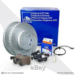 Ate Power Disc Bremsscheiben Bremsen Bremsbeläge Kit Vorne Vw Golf 5 1k1 2.0 Gti