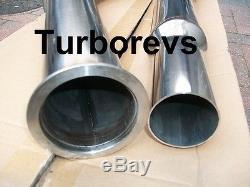 Aud A3 Vw Golf 2.0t Gti Turbo 3 Stainless Steel Exhaust Decat Downpipe De Cat 0