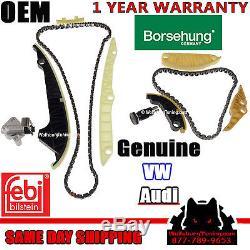 Audi A3 A4 A5 A6 Q3 Q5 TT VW CC Eos GTI Jetta 2.0T Timing Chain Kit TSI TFSI OEM