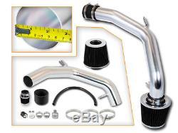 BCP BLACK 99-05 VW Golf Jetta GTi 1.8T 2.0L Cold Air Intake Induction Kit+Filter