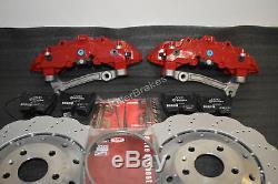 Big Brake kit Audi 8Pot 365mm Wave disc Golf 5 6 7 R R32 Gti S3 8P 8V TTRS Leon