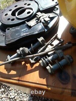 Big brake kit 4 pot brembo calipers vw Golf MK5 MK6 Audi A3 8P TT MK2 R32 GTI GT
