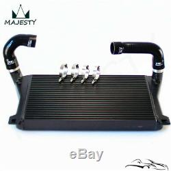 Black Intercooler + Pipe Kit For A3/S3 / VW Golf GTI R MK7 EA888 1.8T 2.0T TSI