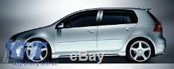 Body Kit estetico Golf Mk 5 V 2003 2007 GTI R32 Design Completo + scarico