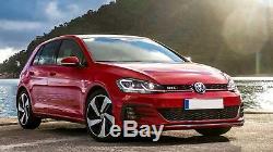 Body Kit for VW Golf 7.5 VII Facelift 17+ Bumper Grille Diffuser Fog Lights GTI