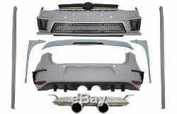 Body Kit for VW Golf 7 VII 5G1 12-17 Wing Fins Spoiler R400 Look Exhaust System
