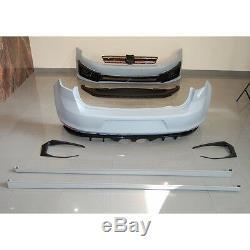 Bodykit für VW Golf 7 VII Stoßstange Seitenschweller Diffusor GTI Clubsport S R