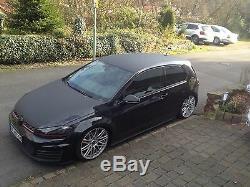 Bodykit für VW Golf 7 VII Stoßstange Seitenschweller Diffusor GTI R GTD Front