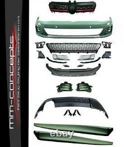 Bodykit für VW Golf 7 VII Stoßstange Seitenschweller Diffusor GTI R GTD R400 RS