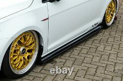 Bodykit mit Frontspoiler Heckdiffusor Schweller aus ABS für VW Golf 7 GTI TCR