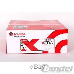 Brembo Xtra Sport-bremsscheiben + Beläge Vorne Vw Golf 5 6 Gti Gtd Octavia Rs