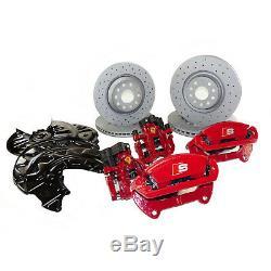 Bremsanlage Audi A3 S3 8V TT TTS 8S Bremssättel rot 340mm Bremse VA und 310mm HA