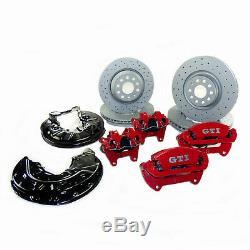 Bremsanlage VW Golf 7 VII R GTI Performance Sport Bremse 340mm vorn 310mm hinten