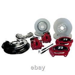 Bremsanlage VW Passat 3C B7 R36 große Bremse 4x Sport Bremssättel Bremsscheiben