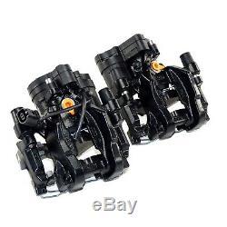 Bremsanlage hinten 310mm VW Golf 7 R GTI Seat Leon 5F Cupra Bremssättel schwarz