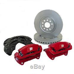 Bremsanlage vorn Audi A3 S3 8V S Line Bremssättel 340mm Bremsscheiben + Bleche