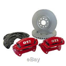 Bremsanlage vorn VW Golf 7 VII GTI Performance Bremssättel + 340mm Bremsscheiben