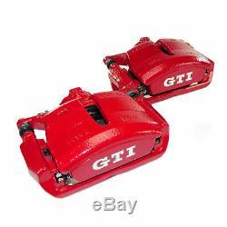 Bremsanlage vorn hinten VW Golf 7 VII GTI Performance Bremse Bremssättel rot