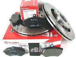 Bremsscheiben Bremsen + Bremsbeläge vorn VW Golf 2 Corrado Passat 35i G60 Brembo