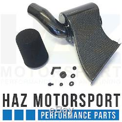 Carbon Fibre Intake Induction Kit Air Filter System VW Golf Mk7 R/GTI Audi S3 8V