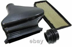 Carbon Look Airbox Air Intake Kit + Sports Filter For Vw Golf Mk5 Gti 2003-2008