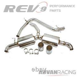 Cat-Back Exhaust Kit Sport Muffler for VW GTI MK6 09-14 2.0T Stainless Steel