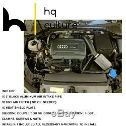 Cold Air Intake Heat Shield Kit For 15-18 VW GTI 2.0L GOLF Audi A3 4 Cyl 1.8L