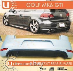 Complete VW GOLF MK6 GTI STYLE REAR BUMPER & DIFFUSER PP ABS VOLKSWAGEN UK STOCK