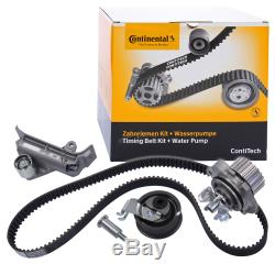 Contitech Zahnriemen-satz Set Kit +wasserpumpe Audi A3 8l 1.8-t +s3 Bj 96-03