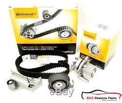 Contitech Zahnriemensatz + Wasserpumpe + Spanndämpfer Audi S3 Vw 1,8t Bam Bum