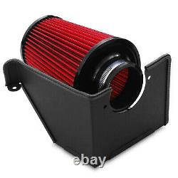 Direnza Cold Air Induction Intake Filter Kit For Vw Golf Mk4 Gti Bora 1j 1.8t