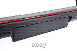 Euro small front bumper kit with RED trim for VW Golf / Rabbit MK2 GTI GTD
