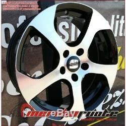 F164 BD KIT 4 CERCHI IN LEGA DA 17 VW GOLF 4 1J GTI R32 MADE IN ITALY 5x100