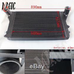 FMIC Turbo Intercooler Kit Red For Vw Golf GTI 06-10 2.0T MK5 Gen2 (VERSION 2)