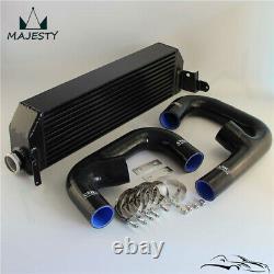 FMIC Twin Intercooler Upgrade+ Hose Kit For Volkswagen Golf R GTI MK7 Audi S3 8V