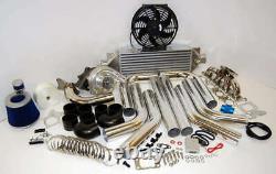 FOR Audi VW Stainless 1.8T A4 TT Golf GTI T3/T4 Turbo Kit