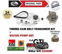 FOR VW GOLF 2.0 GTi EDITION 30 2006-2008 TIMING CAM BELT KIT + WATER PUMP SET
