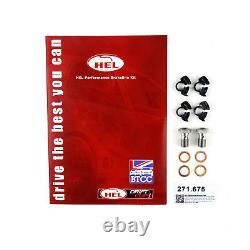FULL KIT HEL Brake Lines Hoses For Volkswagen Golf MK4 1.8 Turbo GTi 1997-2002