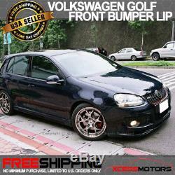 Fit 06-09 Volkswagen Jetta Golf Gti MK5 Urethane Type A Front Bumper Lip Spoiler