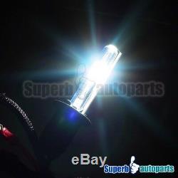 Fit 99-06 VW Golf GTI MK4 Halo Projector Clear Headlights Black+H1 Slim HID Kit