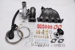 Fits GOLF GTI JETTA VAG PASSAT MK3 MK4 1.8T TOP MOUNT MANIFOLD GT35 TURBO KIT