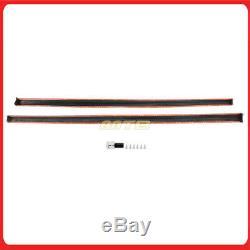 For 15-17 VW Golf GTI MK7 VII R Style Side Skirts Body Kit Rocker Panel Pair PP